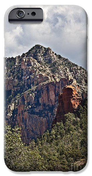 Oak Creek iPhone Cases - Under Sedona Skies iPhone Case by Lee Craig