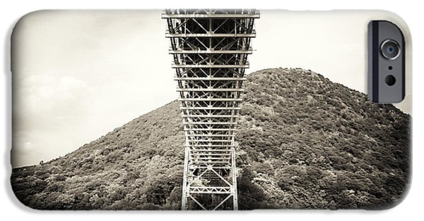 Hudson River iPhone Cases - Under the Bear Mountain Bridge iPhone Case by John Rizzuto