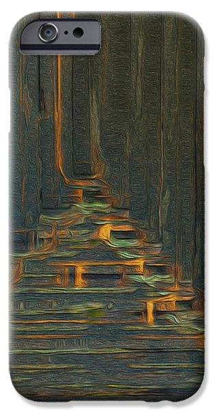 Under The Boardwalk iPhone Case by Jack Zulli
