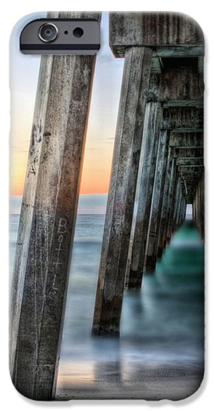 Florida Panhandle iPhone Cases - Under the Boardwalk iPhone Case by JC Findley