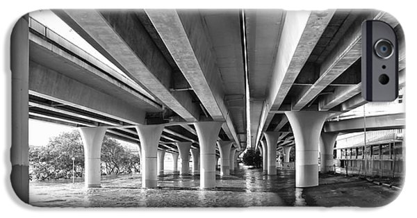 Built Structure iPhone Cases - Under the Bridge iPhone Case by Wendy Townrow