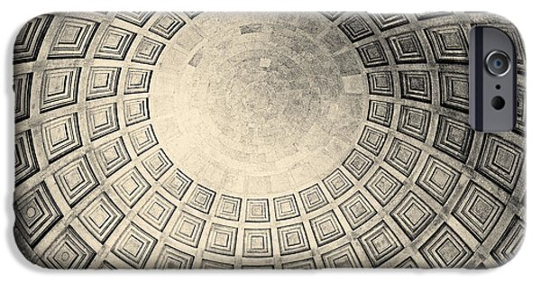 President iPhone Cases - Under The Dome At The Jefferson Memorial iPhone Case by Tom Gari Gallery-Three-Photography