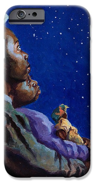 Under the Midnight Blues iPhone Case by Colin Bootman