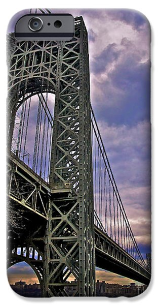 Hudson River iPhone Cases - Under the Span iPhone Case by Mark Miller