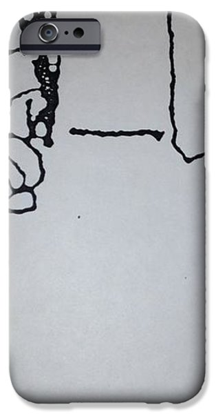 Underdog 1 iPhone Case by Erika Chamberlin