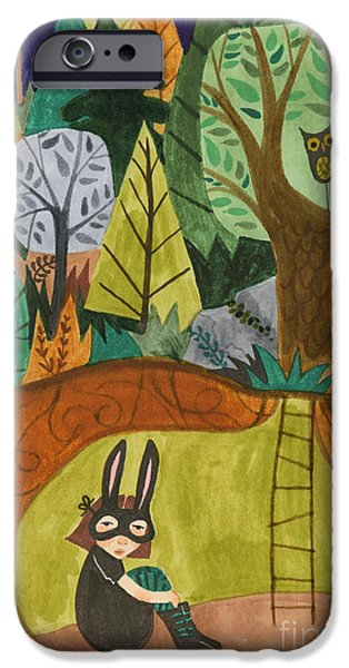 Underground iPhone Case by Kate Cosgrove