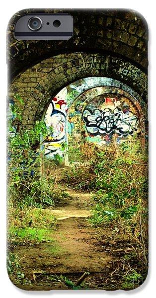 Underneath the Railway Arches iPhone Case by C  Lythgo