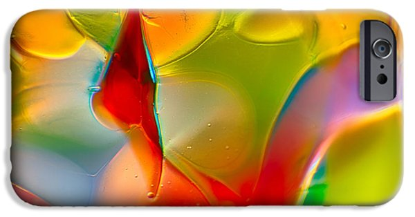 Fine Abstract Glass iPhone Cases - Underwater Welcome iPhone Case by Omaste Witkowski