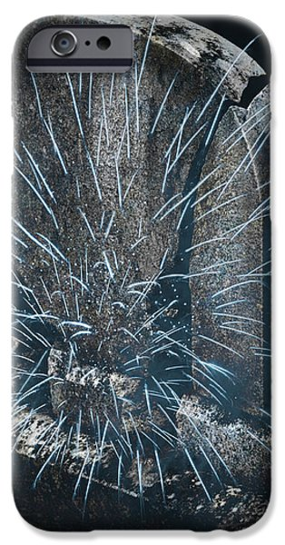 Underworld Encounter iPhone Case by John Stephens