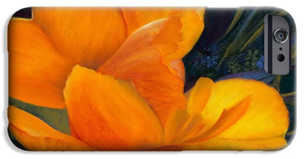 Close Pastels iPhone Cases - Unfolding iPhone Case by Marie-Claire Dole