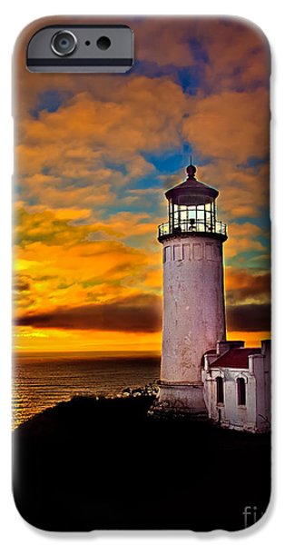 Cape Disappointment iPhone Cases - Unforgettable iPhone Case by Robert Bales