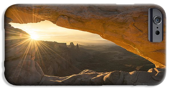 Sunflare iPhone Cases - Unguarded  iPhone Case by Dustin  LeFevre