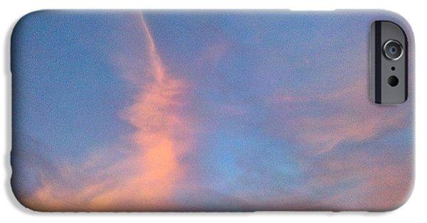 Sedona iPhone Cases - Unicorn Cloud iPhone Case by FlyingFish Foto