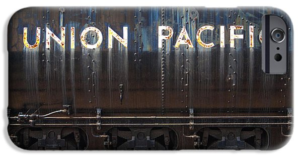 Impressions Of Light iPhone Cases - Union Pacific - Big Boy Tender iPhone Case by Paul W Faust -  Impressions of Light