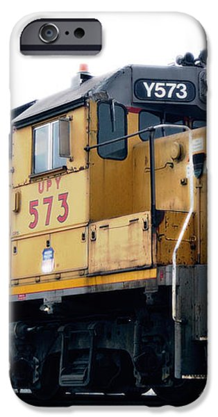 Union Pacific Yard Master iPhone Case by Steven Milner