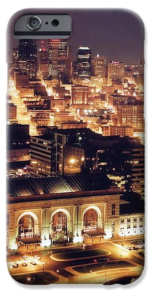 Union Station Night iPhone Case by Crystal Nederman