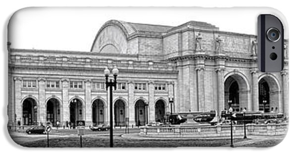 Nation iPhone Cases - Union Station Washington DC iPhone Case by Olivier Le Queinec