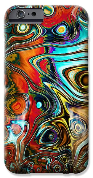 Sensual Mixed Media iPhone Cases - United iPhone Case by Photodream Art