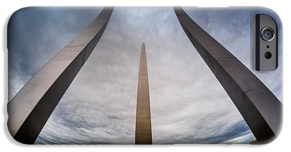 D.c. iPhone Cases - United States Air Force Memorial iPhone Case by Randy Scherkenbach