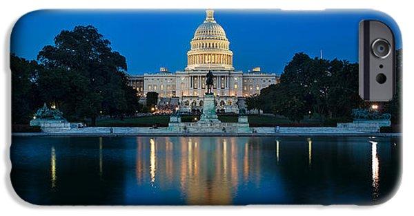 United iPhone Cases - United States Capitol iPhone Case by Steve Gadomski
