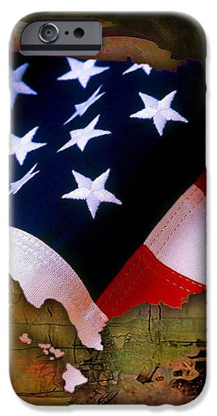 United States Map  iPhone Case by Marvin Blaine