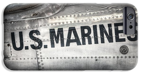 Marine iPhone Cases - United States Marines - Beech C-45H Expeditor iPhone Case by Gary Heller