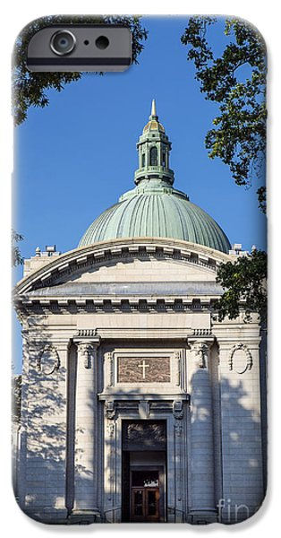 United States Naval Academy Chapel iPhone Case by John Greim