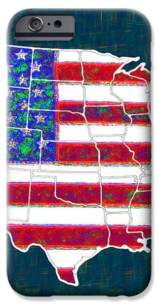 United States of America - 20130122 iPhone Case by Wingsdomain Art and Photography