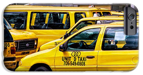 Dirty iPhone Cases - United Taxi iPhone Case by Tim Rogan