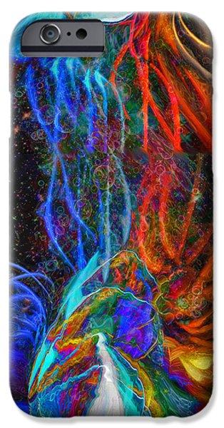 Universal Energy iPhone Case by Linda Sannuti