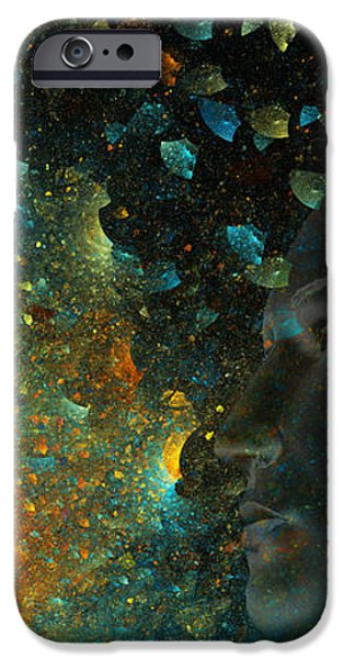 Universal Mind iPhone Case by Betsy A  Cutler