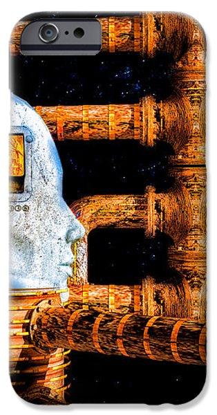 Universal Mind iPhone Case by Bob Orsillo