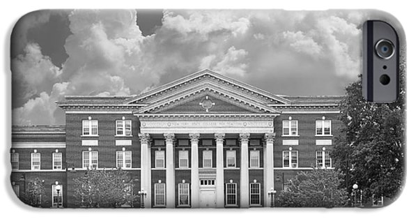 Special Occasion iPhone Cases - University at Albany Draper Hall iPhone Case by University Icons