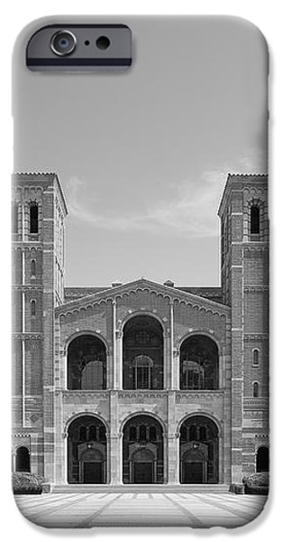 University of California Los Angeles Royce Hall iPhone Case by University Icons