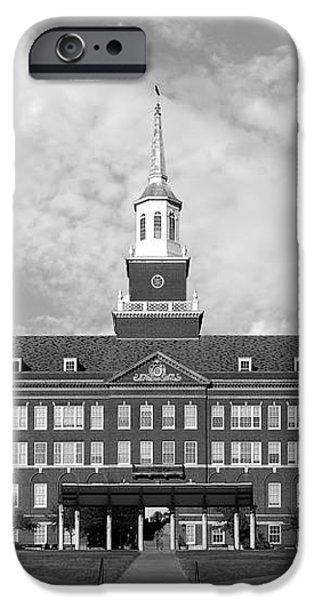 University of Cincinnati Mc Micken Hall iPhone Case by University Icons