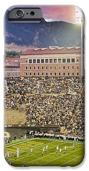 University of Colorado Boulder Go Buffs iPhone Case by James BO  Insogna