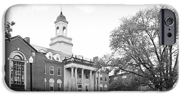 Special Occasion iPhone Cases - University of Connecticut Wilbur Cross Building iPhone Case by University Icons