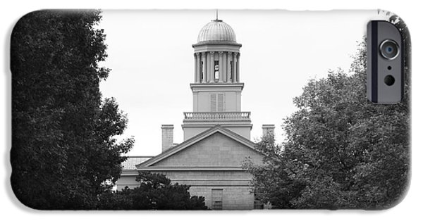 Recognition iPhone Cases - University of Iowa Old Capital iPhone Case by University Icons