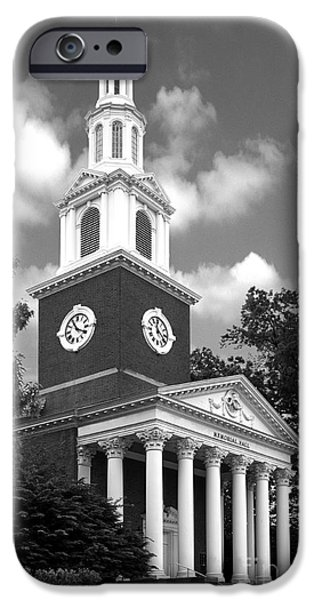 University of Kentucky Memorial Hall iPhone Case by University Icons