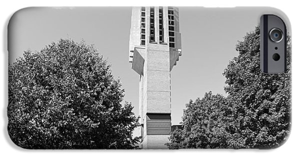 Flagship iPhone Cases - University of Michigan Lurie Bell Tower iPhone Case by University Icons