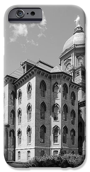 University of Notre Dame Main Building iPhone Case by University Icons