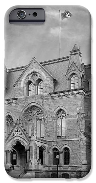 University of Pennsylvania College Hall iPhone Case by University Icons