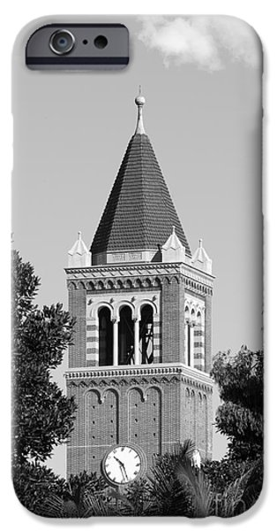 University of Southern California Clock Tower iPhone Case by University Icons