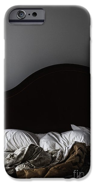 Bed Linens iPhone Cases - Unkept iPhone Case by Margie Hurwich