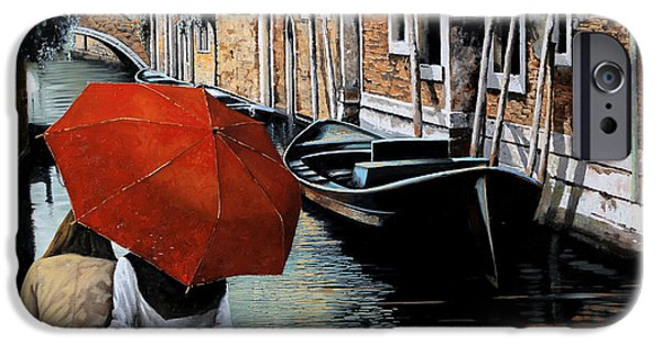 Dating iPhone Cases - Uno Sguardo Al Canale iPhone Case by Guido Borelli