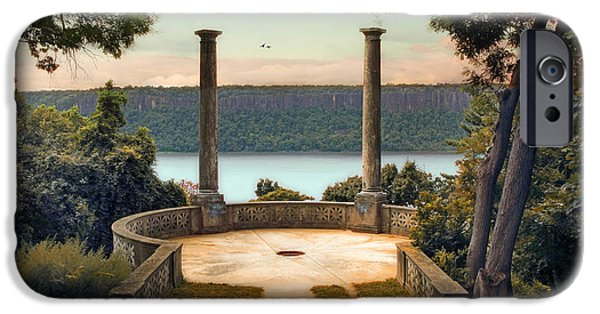Hudson River Digital iPhone Cases - Untermyer Vista iPhone Case by Jessica Jenney