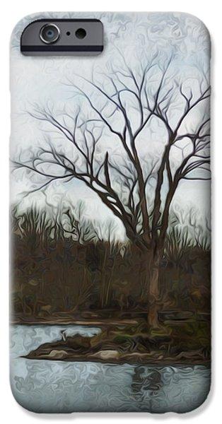 Soil Digital Art iPhone Cases - Until Spring iPhone Case by Jack Zulli