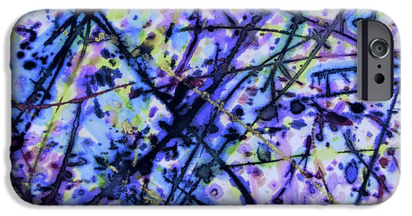Timeless Design Paintings iPhone Cases - Spellbound iPhone Case by Odessa Christiana