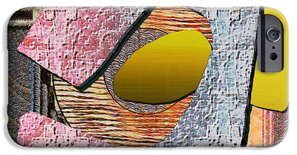 Modern Abstract iPhone Cases - Untitled 455 iPhone Case by Nedunseralathan R