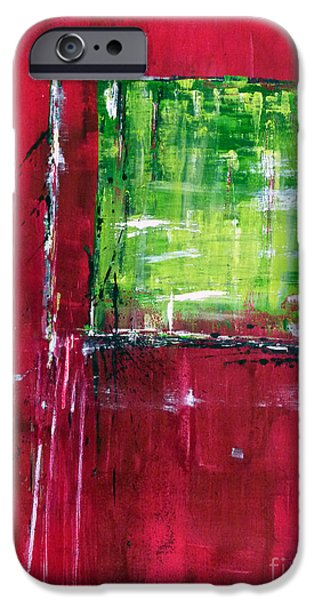 Untitled- abstract  iPhone Case by Ismeta Gruenwald